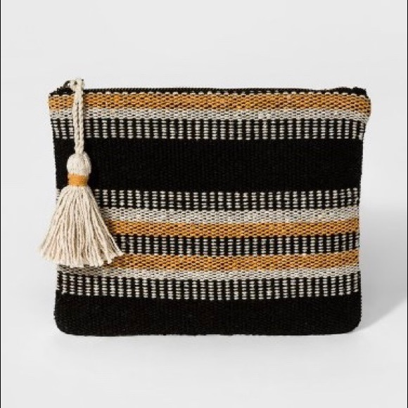 Sephora Other - 🆕 | ᴠɪɴᴛᴀɢᴇ Inspired | Woven Makeup Bag w/ tassel